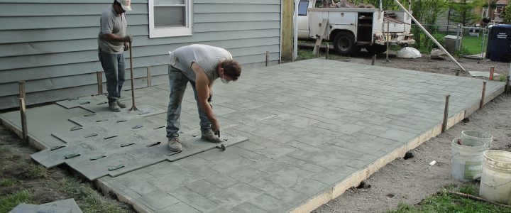 About Stamped Concrete
